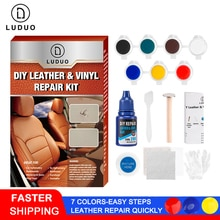 LUDUO автомобильный уход жидкая кожа ремонтные наборы Авто искусственное пальто отверстие для царапин трещин полировка фотоинструменты