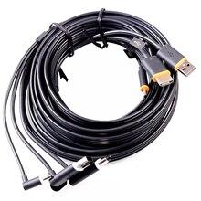 3 в 1, совместимому с HDMI USB кабель линии передачи данных для HTC Vive VR гарнитура виртуальной реальности аксессуары Замена Очки виртуальной реальности VR кабель