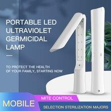 UVC Disinfection Lamp 2W UV Sterilization Lamp USB Ultraviolet Disinfection Light Travel esterilizado UV Lamp Sterilizing Light