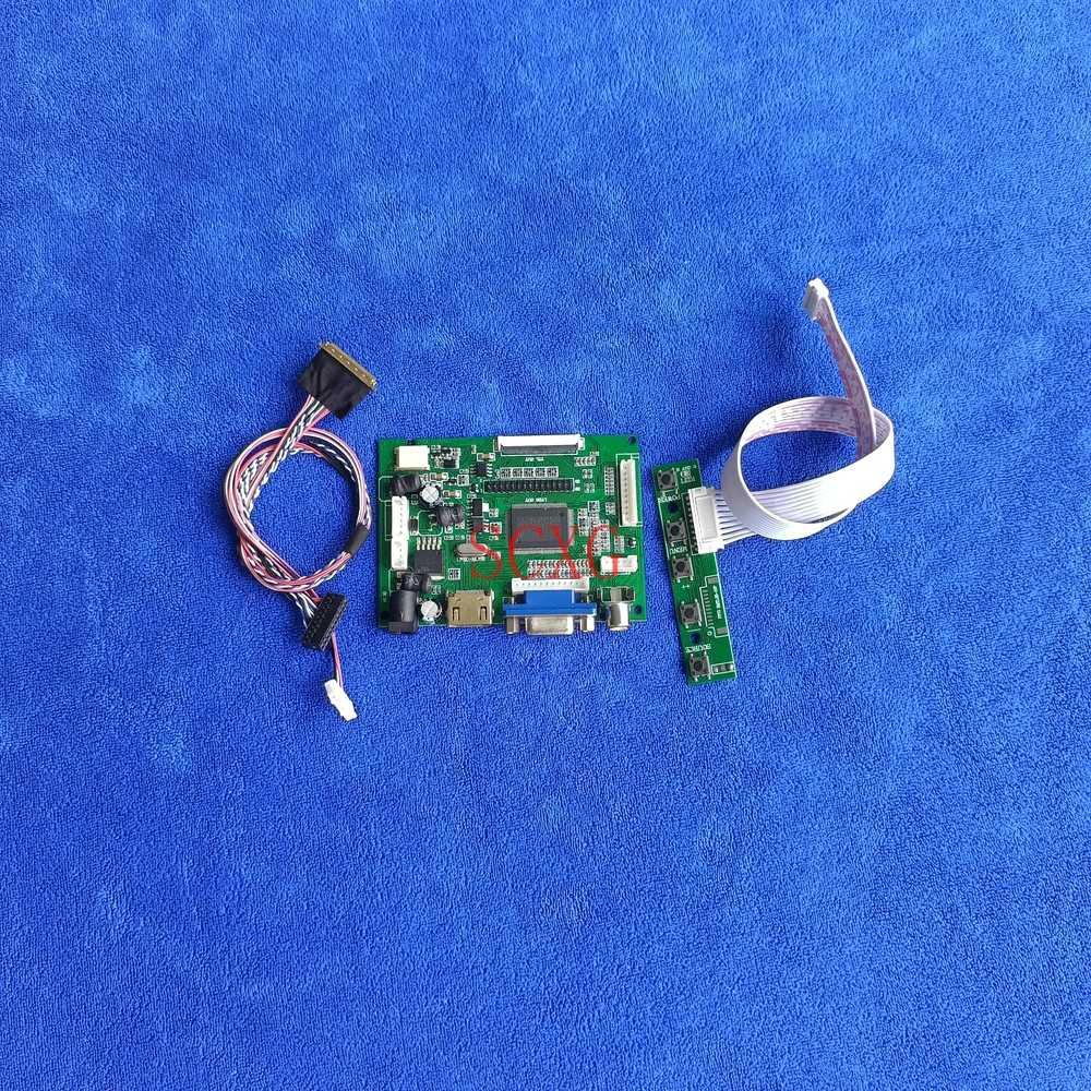 أجهزة الكمبيوتر المحمولة 40-Pin LVDS Fit B156XTN02.0/B156XTN02.1/B156XTN02.2/3/4 60Hz 1366*768 HDMI-متوافق VGA AV LCD شاشة مجموعة لوحة القيادة
