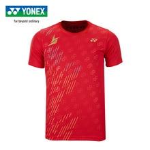 Genuine Yonex Badminton Jersey Lin Dan Style Sports Short Sleeve T-shirts For Men 16419ldcr