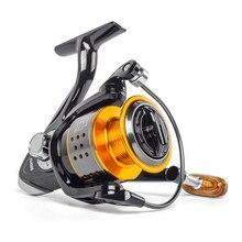 Kołowrotek FA1000-6000 bez szczeliny metalowa szpula Max Drag 8KG kołowrotek Pike High Speed 4.7:1 kołowrotki sprzęt wędkarski Pesca Wheel