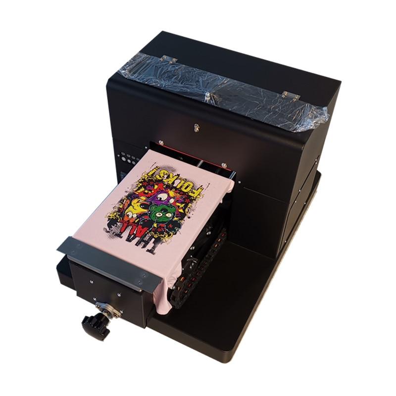 A4 حجم T طابعة التيشرتات مباشرة إلى الملابس DTG آلة طباعة للطباعة التي شيرت ، بولي كلوريد الفينيل ، غطاء الهاتف