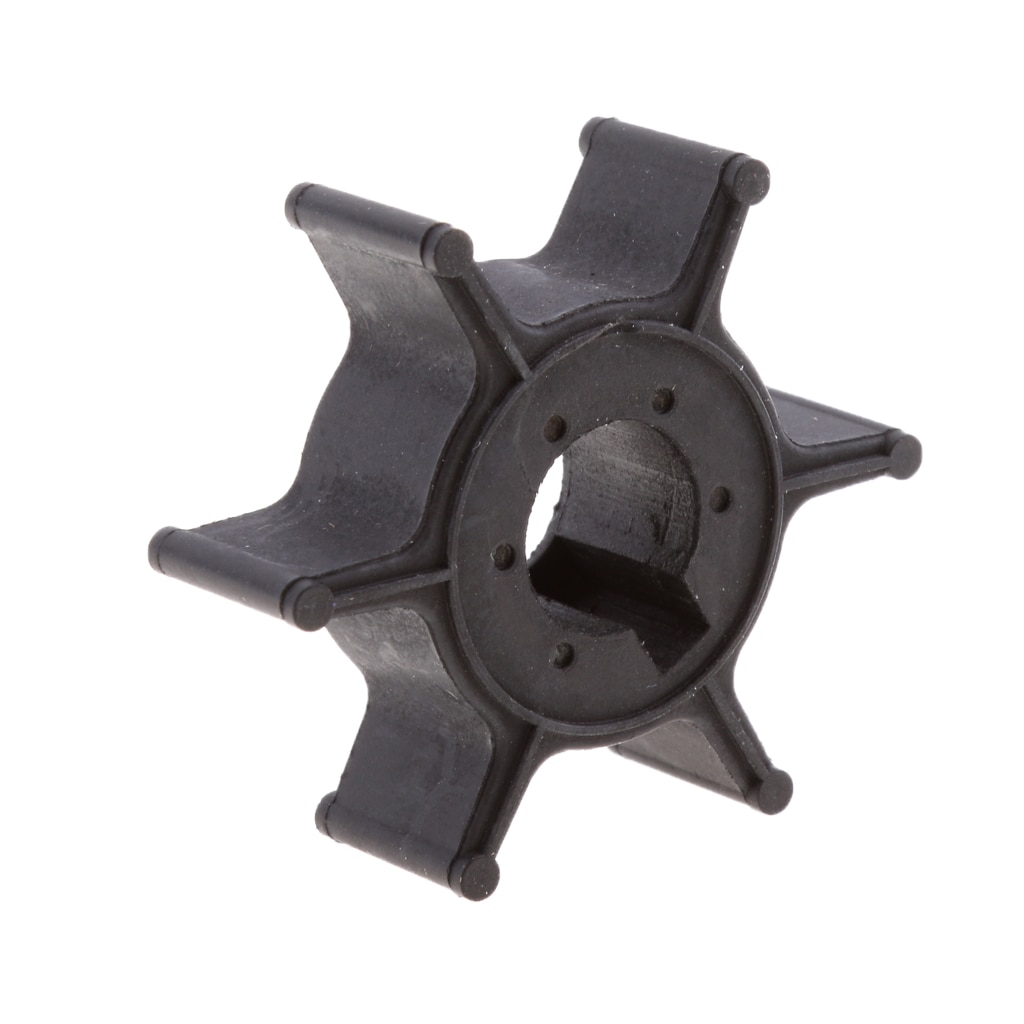 Black Water Pump Impeller for Yamaha 4 5HP 2-stroke # 6E0-44352-00-00 # water pump impeller replacement for yamaha 4hp 5hp 6hp f4 2 stroke 4 stroke