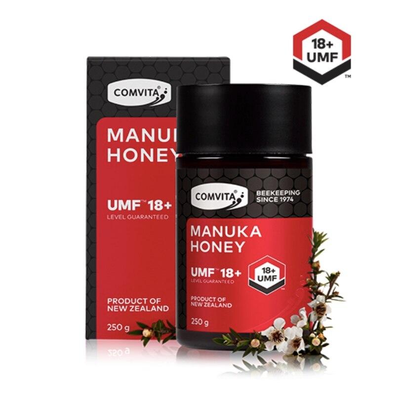 Original NewZealand Comvita Manuka Honey UMF18+ for Digestive Immune Health Respiratory System Cough Sooth Coughs Sore Throat