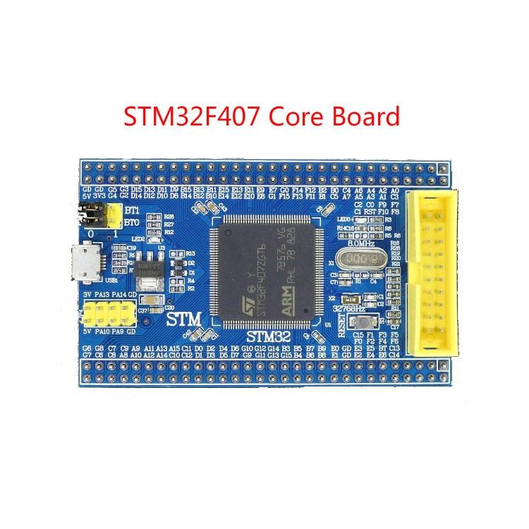 STM32F407 sistema mínimo de placa central STM32F407ZGT6 Placa de desarrollo Mini placa M4