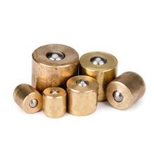 6/8/10/12mm pulsador Botón Ajuste bola engrasador Zerk pezón golpe Miss Engine sistema de lubricación de molino de torno de Motor