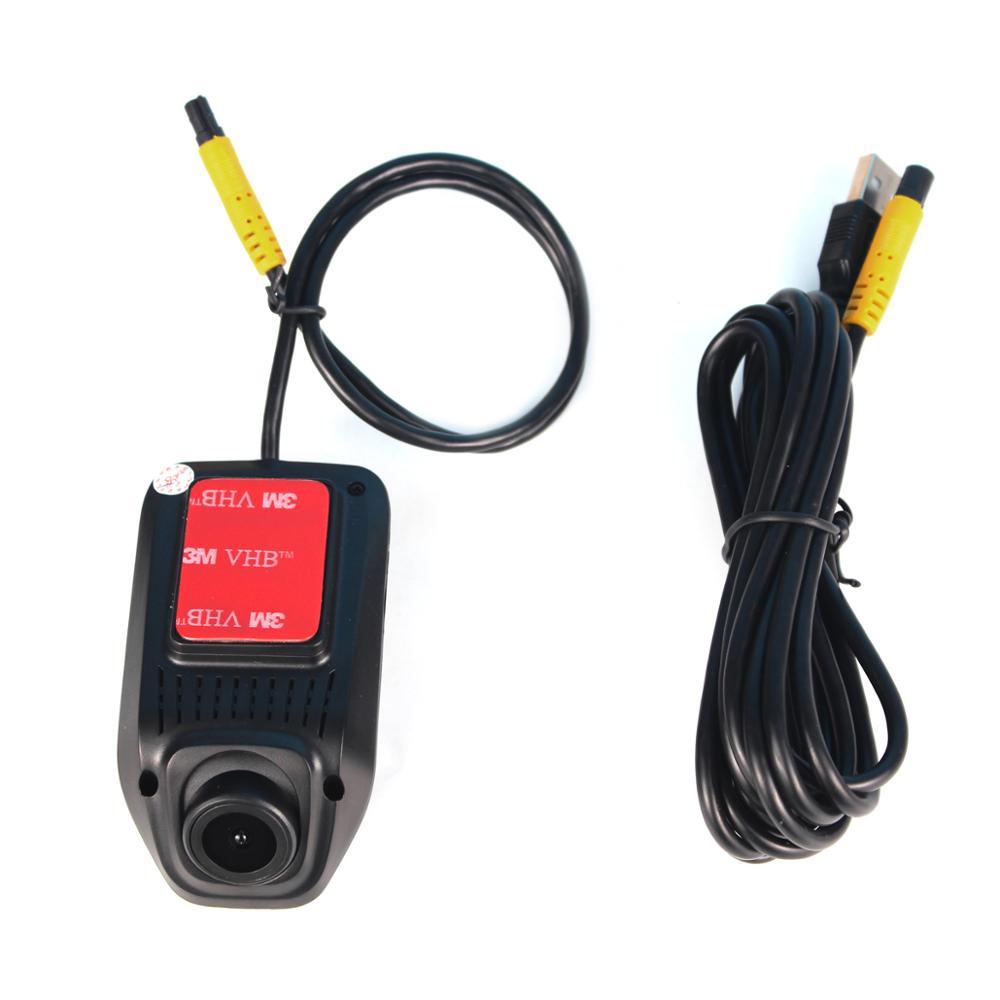 JOYING accesorios electrónicos para coche, Radio de coche, puerto USB, cámara frontal de coche, DVR, grabación de voz en el tablero, enchufe de guía de tráfico, compatible con TF SD