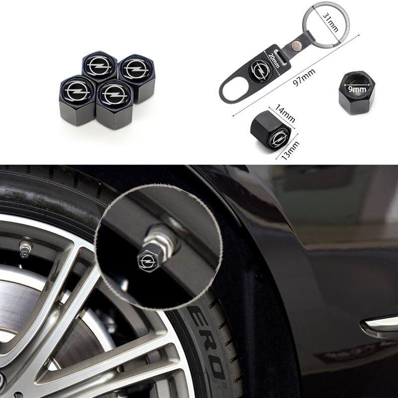 Универсальная крышка клапана автомобильных деталей, крышка клапана автомобильной шины подходит для OPEL-, может использоваться как брелок