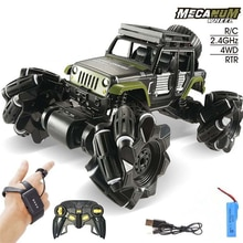 360 Degree Alloy Stunt RC Cars Toys 2.4G 4CH 1:16 Drift Dual Remote Control Car Model Gift For Kids