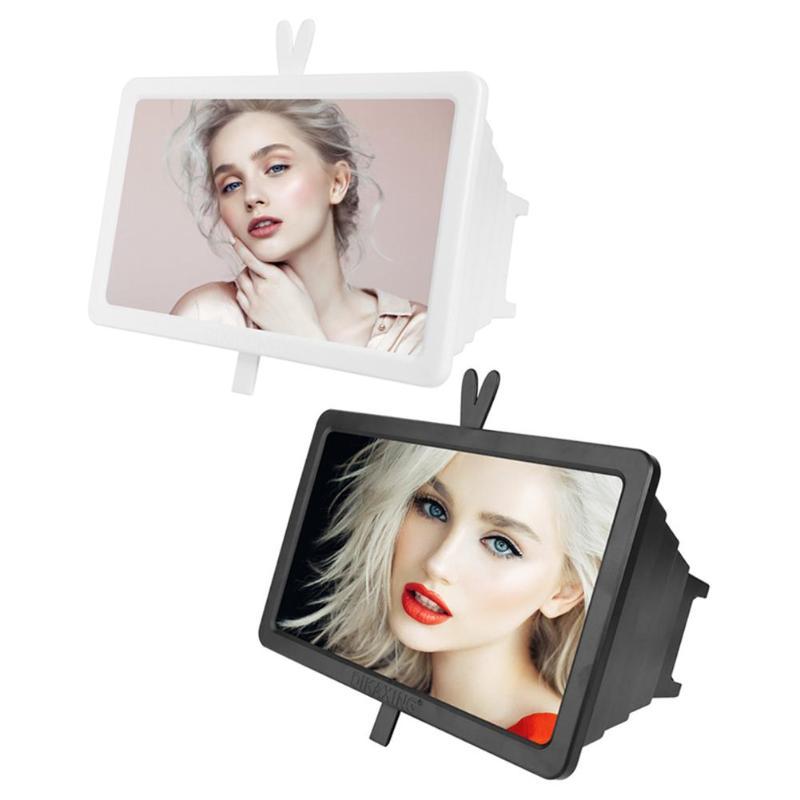 Soporte de aumento de pantalla de teléfono móvil de 14 pulgadas soporte de escritorio amplificador de vídeo de película soporte de pantalla de teléfono móvil