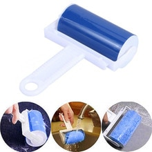 2021Top Washable Roller Cleaner Lint Sticky Picker Pet Hair Clothes Fluff Remover Reusable Brush Hou