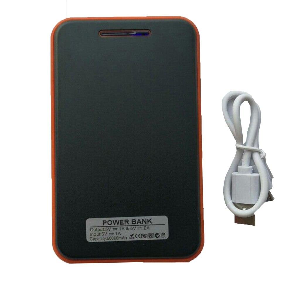 Banco de energía Solar portátil a prueba de agua de gran capacidad, súper Delgado, cargador Solar USB Dual para teléfonos móviles para células solares Iphone