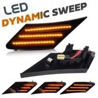 2pc dynamic led turn signals flowing light led side marker bumper light sequential blinker for toyota ft86 subaru brz scion fr s