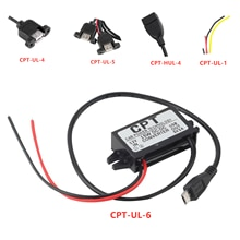 5 tipi di tecnologia di alimentazione per auto caricabatterie modulo convertitore cc porta singola da 12V a 5V 3A 15W con cavo Micro USB Dropshipping