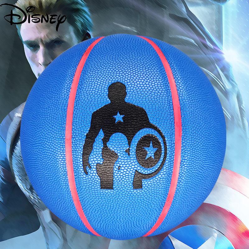 Disney Marvel взрослых Баскетбол из мягкой кожи нет. 7 модные бетона износостойкие Профессиональный игры в баскетбол