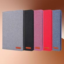 "Tekstil kumaş Tablet samsung kılıfı Galaxy Tab A10.1 ""SM-T510/SM-T515 2019 durumda darbeye dayanıklı silikon bez standı Tablet kılıfı"