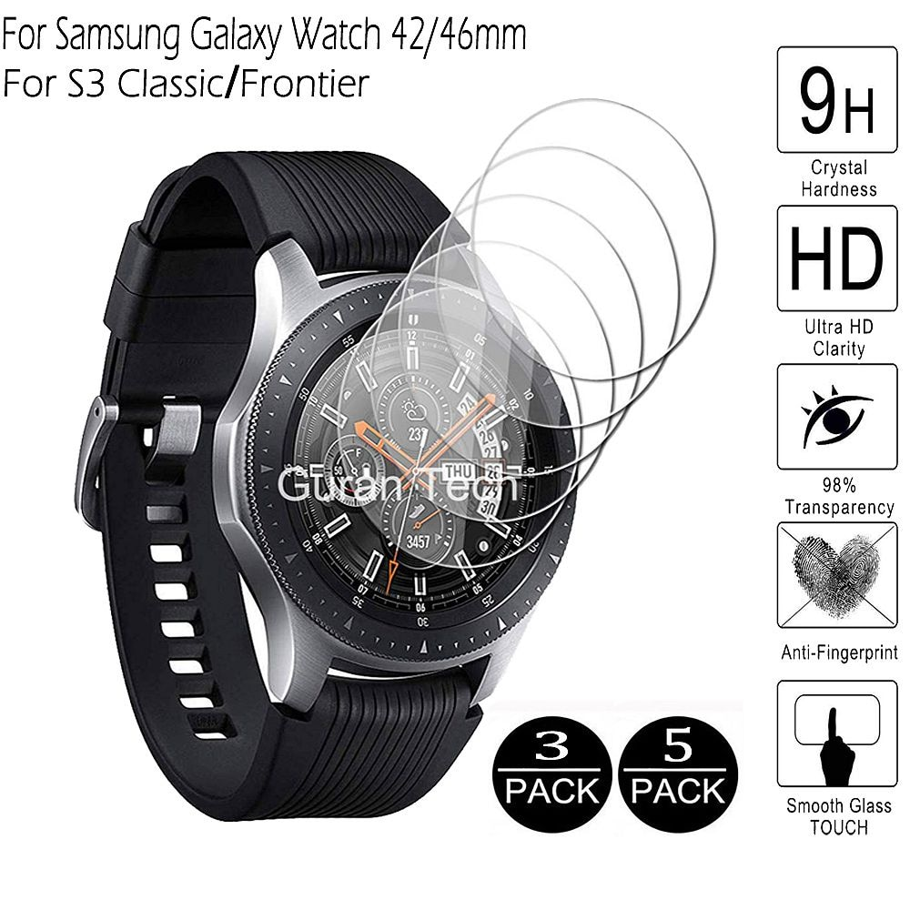 For Galaxy Watch 46mm 42mm 3 41/45mm Tempered Glass for Samsung Gear S3 Classic Frontier Screen Prot