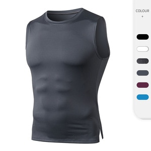 New Gym Tank Tops Quick Dry Sleeveless Sports Shirt Men Fitness  Bodybuilding Breathable Clothing Summer Cool Men's Running Vest