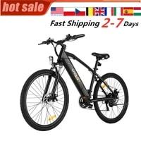 electric mountain bike e bike speed shifter double shock front rear disc brake