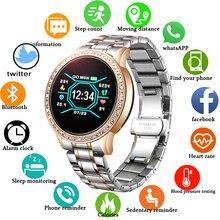 LIGE Smart Watch Women Blood Pressure Heart Rate Monitor Activity Multi-function fitness watch Smart