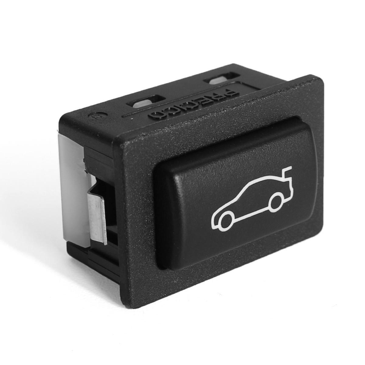1 botón de interruptor de desbloqueo de la caja interior del maletero del coche para BMW F20 F30 F35 F10 F11 F18 E84 61319200316 Botón de interruptor de desbloqueo Contro
