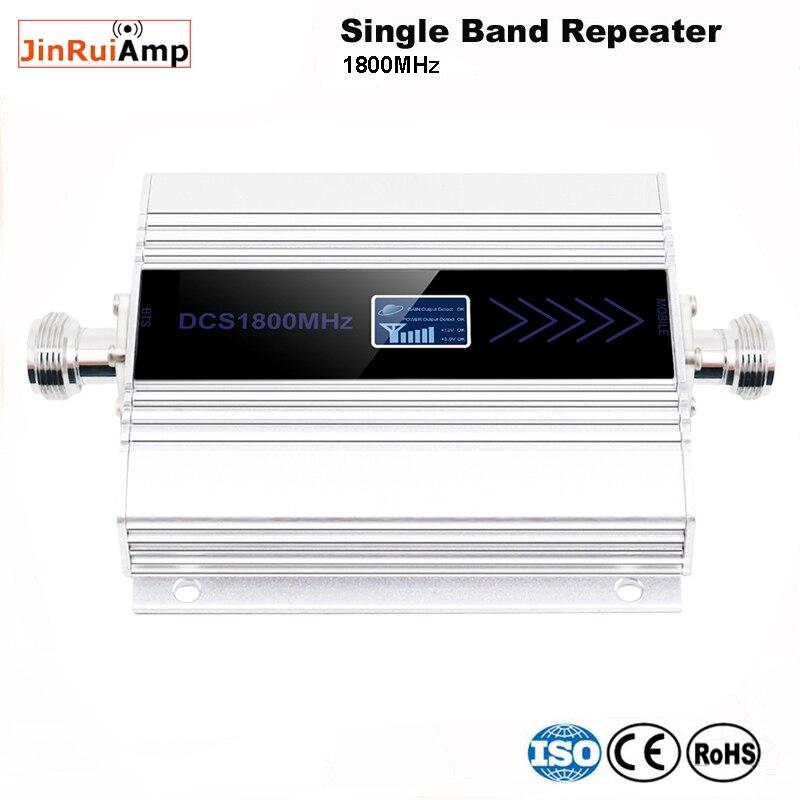Amplificateur de téléphone portable 4G LTE DCS 1800mhz GSM 1800 répéteur de Signal amplificateur de téléphone portable réseau 4G 65db Gain écran LCD