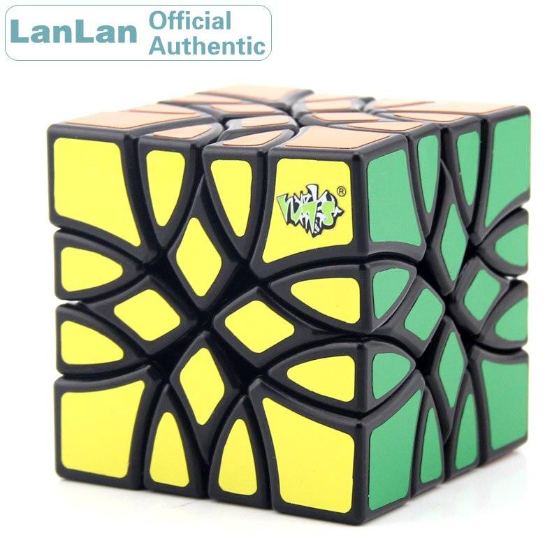 LanLan Mosaic Magic Cube Strange Shape Irregular Cubo Magico Professional Neo Speed Puzzle Antistress Educational Toys 1x3x3 neo cube novelty fidget spinner magic cube educational puzzle antistress toys learning cubo magico toys for children kids