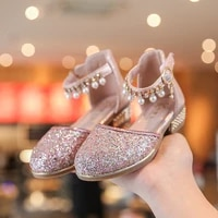 bling bling girls leather shoes for wedding and party rhinestone princess shoes kids dance dress crystal shoes chaussure fille