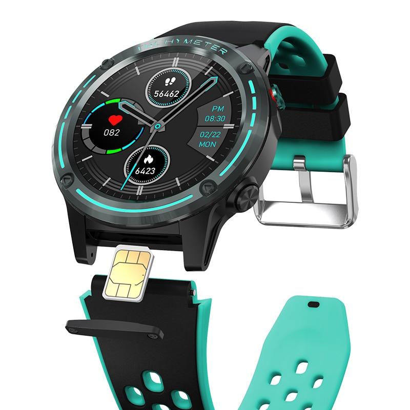 M6S بطاقة SIM دعوة ساعة ذكية الرجال النساء لتحديد المواقع 2021 IP65 مقاوم للماء ساعة اللياقة البدنية تعقب Smartwatch ل شاومي IOS أندرويد