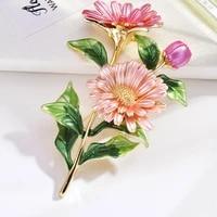 daisy bouquet enamel brooch plant brooch flower wedding banquet brooch jewelry accessories