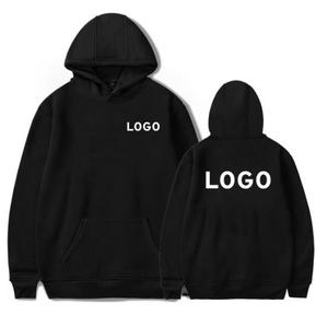 Customized Logo Personal Printing Hooded Sweatshirt Plus Size Design Your Own