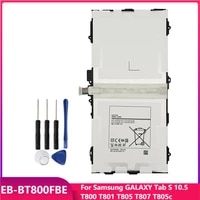 original tablet battery eb bt800fbe for samsung galaxy tab s 10 5 t800 t801 t805 t807 t805c replacement batteries 7900mah