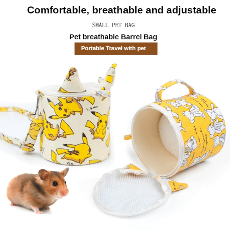 Hamster Rabbit Cage House Breathable Portable Outing Bag Jaula Conejo Small Pet Carrier Jaulas Para Conejos Mascotas Supplies