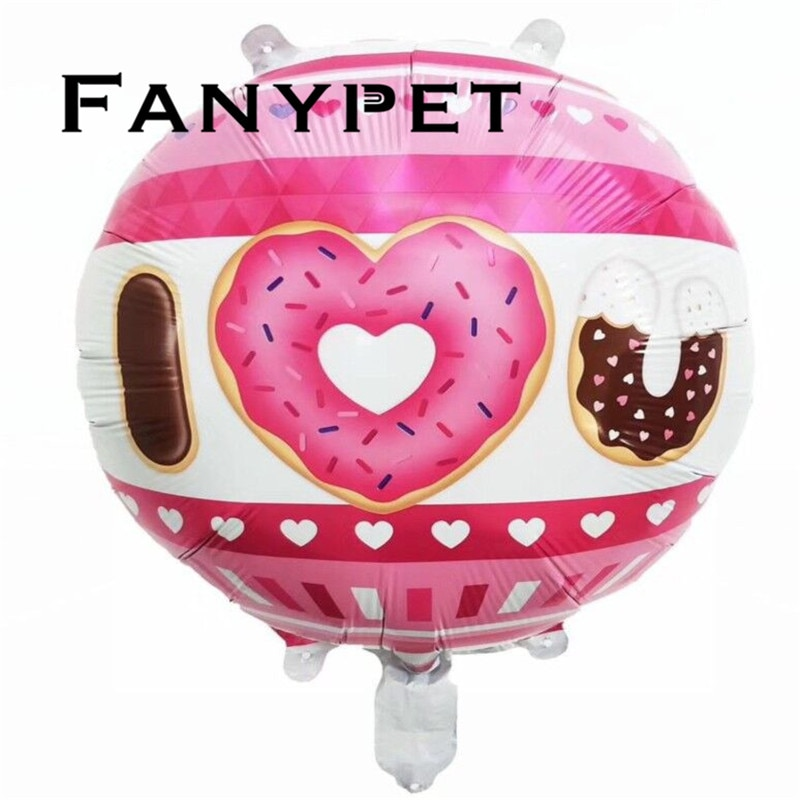 50 шт. 18 дюймов воздушные шары пончики Мексика авокадо деревья кокосовый ананас день рождения надувной шар праздник воздушный шар в форме фр...