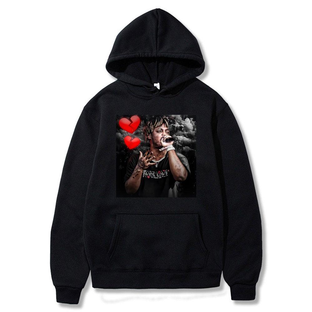 Фото - Rapper Juice Wrld Hoodies Men Women Hip Hop Sweatshirts Streetwear Fashion Hoodies Popular Hooded Pullovers Rip Juice Wrld Hoody juice wrld