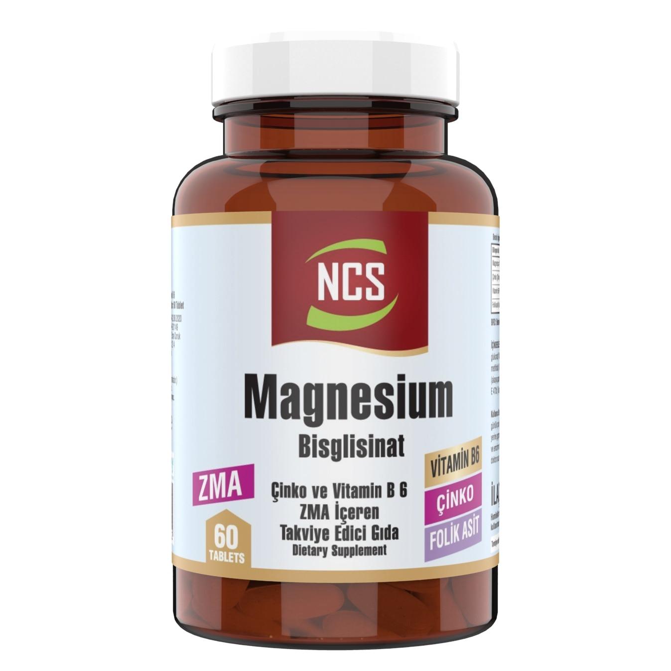 Tableta Ncs magnesio Bisglisinat Zma 60
