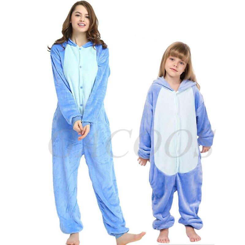 mae filha cosplay sleepwear bebe meninos tigre macacao criancas unicornio com capuz