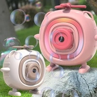 automatic funny cartoon children bubble maker camera bath wrap machine toys toys for baby