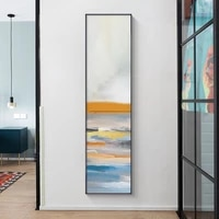 abstract graffiti canvas poster minimalist colorful wall art print nordic wall pictures for gallery living room home decor