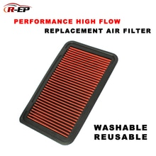 High-Flow Air Filter Fits for Lexus ES300 330 RX300 RX330 Toyota Alphard Camry Harrier Highlander Kluger Sienna Washable Filter