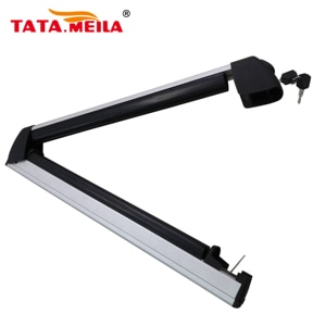 TATA.MEILA Universal  Car Roof Racks Snowboard Ski Rack Luggage Carrier For Car Slide-Out Rack ,Convenient Loading And Unloading