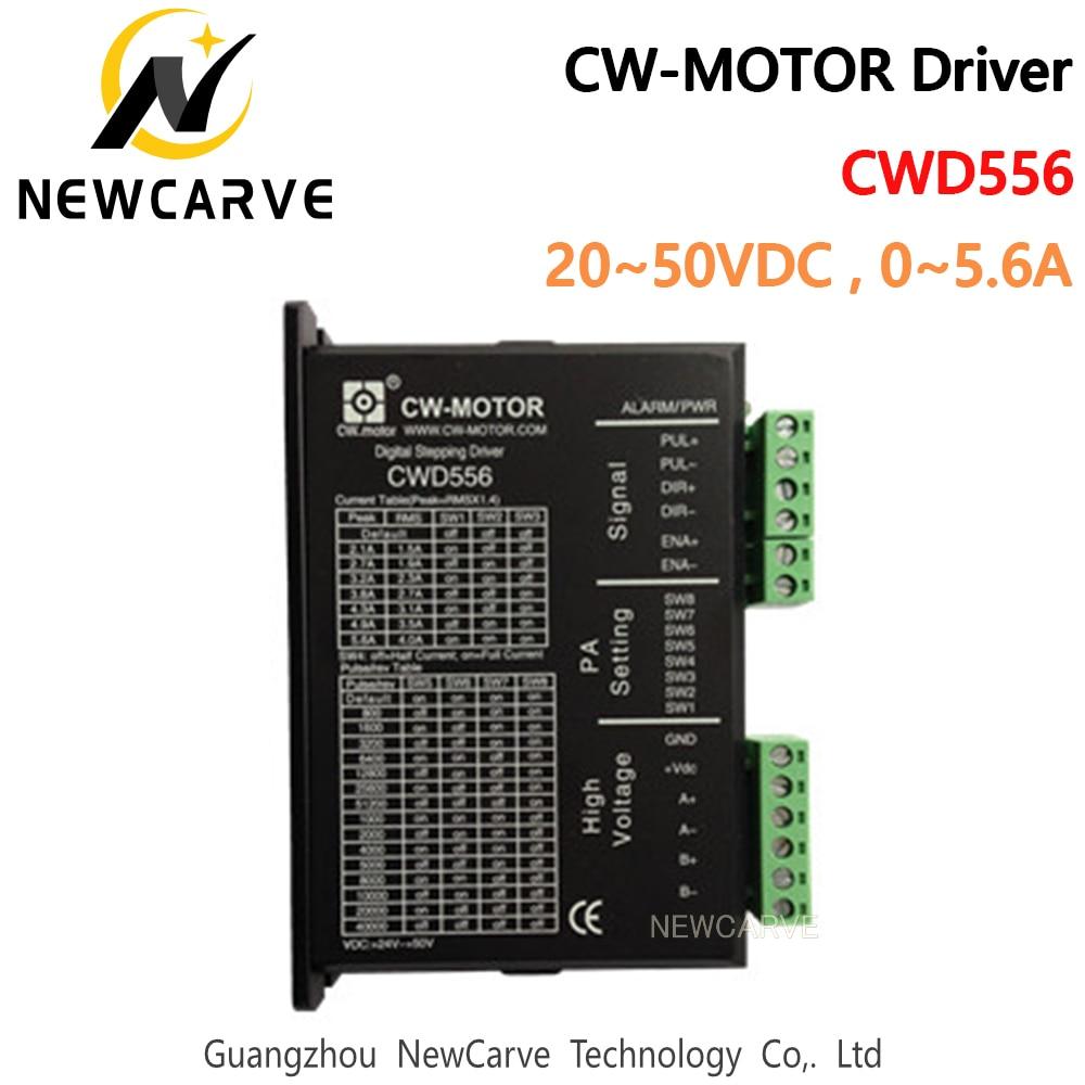 NEWCARVE-محرك متدرج رقمي CWD556 ، لـ Nema23/nema34 ، 0-5.6A 20-50VDC