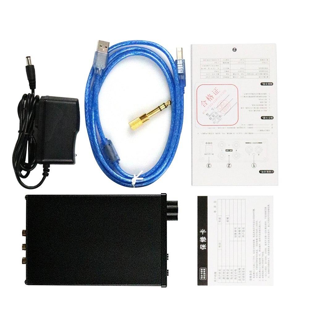 AMPLIFICADOR DE AURICULARES Dilvpoetry X6 Pro DAC, decodificador de Audio Digital HiFi 24Bit/192kHz Coaxial/óptico/estéreo USB