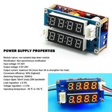 2 In 1 XL4015 5A Einstellbare Power /CV Step-down-lademodul Led-treiber Voltmeter Amperemeter Konstante Strom konstante Spannung