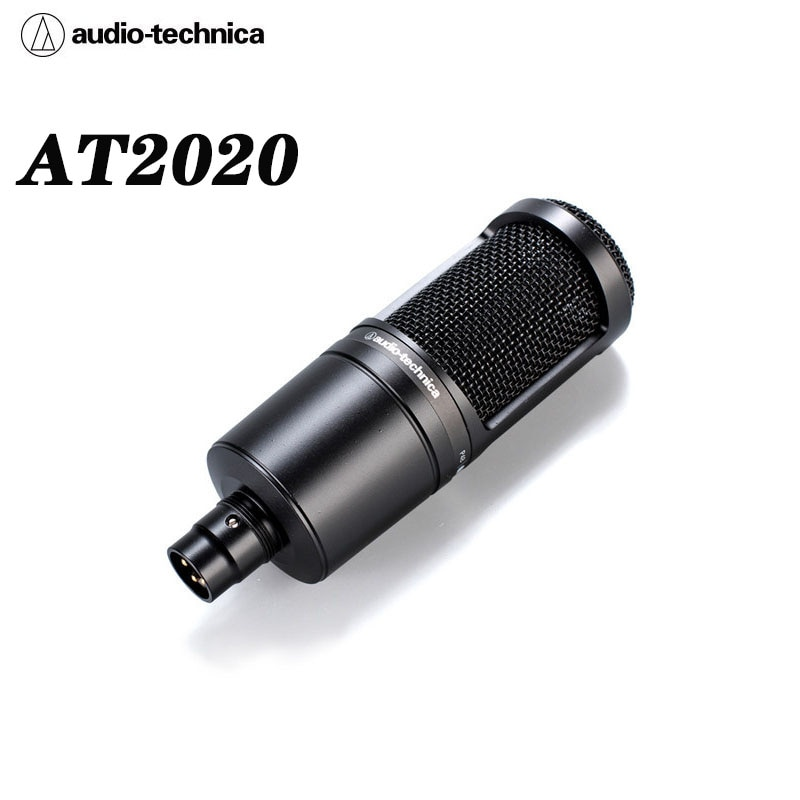 Audio Technica AT2020 Professional K Song Live Recording Vocal Microphone Condenser Microphone