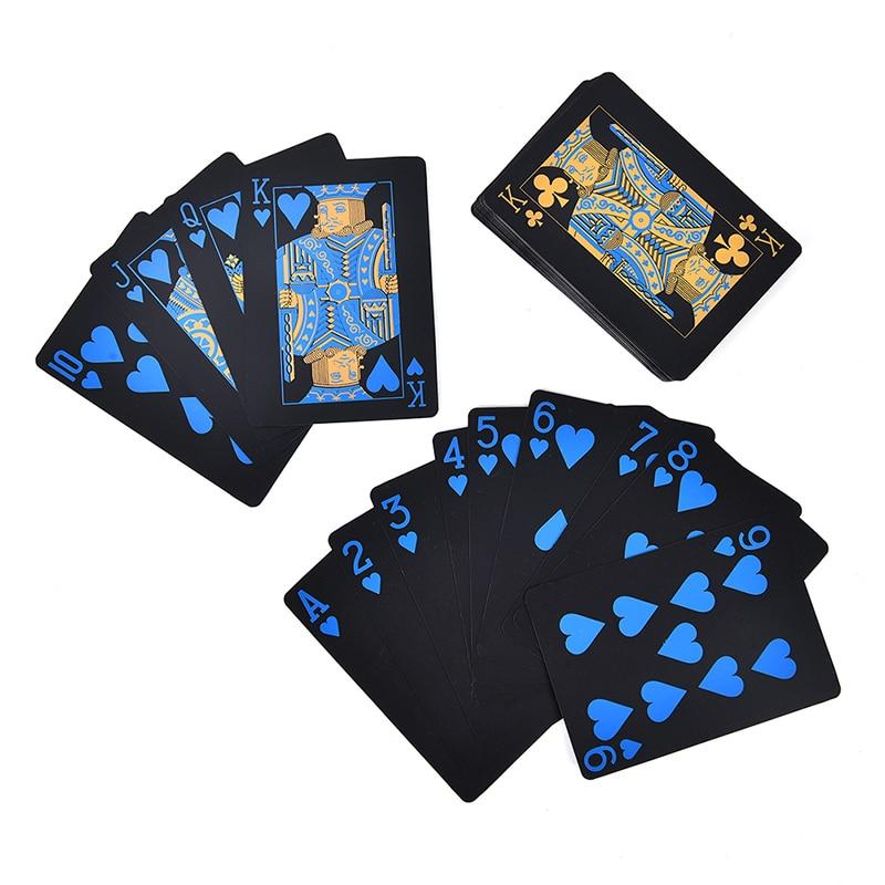 55-шт-компл-прочный-покер-пластик-ПВХ-покер-Водонепроницаемый-черный-игральные-карты-креативный-подарок-оптовая-продажа
