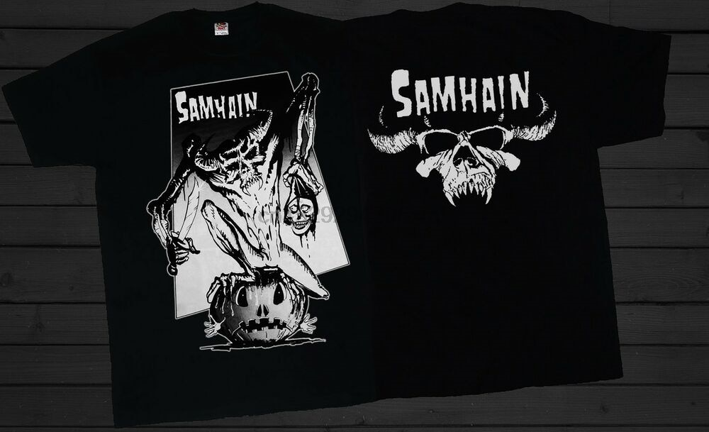 Samhain Horror Punk Heavy Metal-gdańsk-Misfits T _ SHIRT-rozmiary S do 7xl