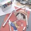 CHENYU – marqueurs de couleurs 12 18 24 36 pièces pinceaux lavables pour peinture dessin aquarelle Art pour enfants pour l'école