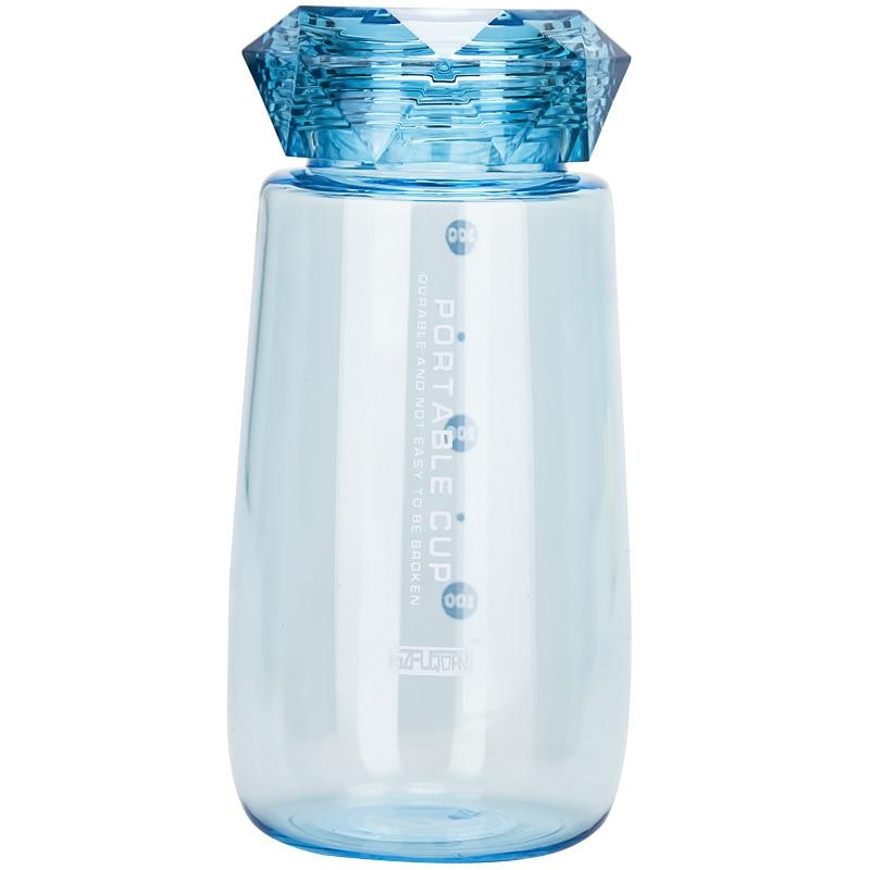 Mini Botellas De Agua pequeñas transparentes, portátiles, Para viaje, creatividad, Botellas De Plastico Para Agua, Infusor De té, vaso EC50SH